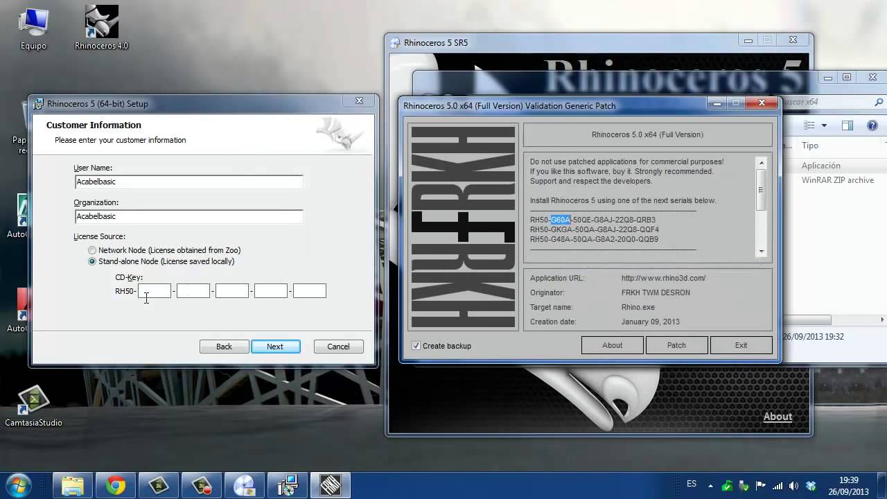 Rhino 5 Cracked Sitehistory